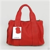 BLUEDG supply Alexander 2010 Genuine Leather Handbags 78151 Red