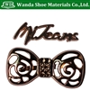 Pretty Bow Style Metal Studs,Hot Fix Letters Studs,for Shoes Bags Clothing